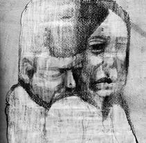 Pareja. Un proyecto de Ilustración y Pintura de Alejandro  Armas Vidal - 06-03-2016