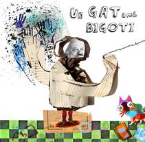 Un gat amb bigoti, aventura amb l'Armand Cardona Torrandell. Um projeto de Ilustração de Germán March Sierra - 23-04-2012