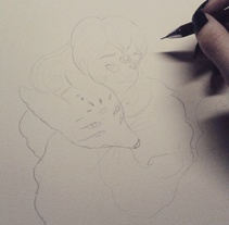 Ilustración fantástica: personajes femeninos.. A Illustration project by Raquel Gordillo         - 08.03.2016