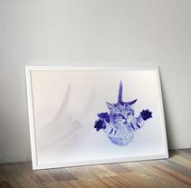 Gato. Um projeto de Ilustração e Artes plásticas de Carlos Rodríguez Pasquel         - 08.03.2016