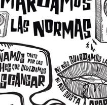 DESPERADOS DECORACION OFICINAS. Un proyecto de Ilustración de iago dequidt del valle         - 10.03.2016