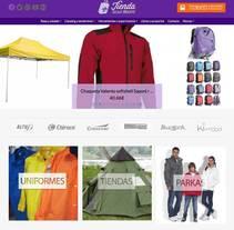 La Tienda Scout de Madrid (e-commerce). A Graphic Design, Web Design, and Web Development project by Adelaida Castro Navarrete - Mar 13 2016 12:00 AM