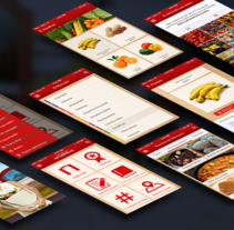 App Mercado do Rio Vermelho. Um projeto de UI / UX, Arquitetura da informação e Design interativo de Lív Argolo         - 12.03.2016