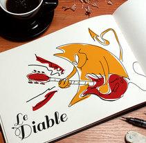 Le Diable. Um projeto de Ilustração, Direção de arte, Br e ing e Identidade de Toni Buenadicha         - 26.05.2007