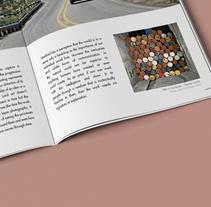 Revista de arte . Un proyecto de Diseño editorial y Diseño gráfico de Mónica Galán de la Llana - 16-03-2016