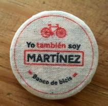 Los Martínez Banco de bicis: Identidad. Un proyecto de Animación, Br, ing e Identidad, Diseño gráfico, Marketing, Diseño de producto y Social Media de Sonia de Viana - 07-04-2016