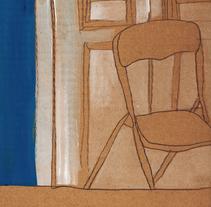 Habitación en en La Latina, Madrid.. Un proyecto de Ilustración, Bellas Artes y Pintura de Alejandro  Armas Vidal - 18-03-2016