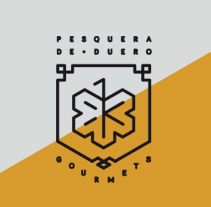 Pesquera de Duero Gourmets. A Br, ing, Identit, and Graphic Design project by Jorge González Molinero         - 20.03.2016