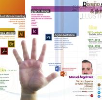 InfoCVGRAPHICS. Un proyecto de Ilustración, Diseño editorial e Infografía de Manu Díez         - 25.04.2016