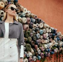 """Fashion editorial """"Retrofuturism"""" for """"Confus Magazine"""".. Un proyecto de Fotografía y Moda de Leo Scaff         - 19.12.2015"""