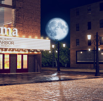 Cinema 1940. A Film, Video, TV, 3D, Animation, Video, and VFX project by Javier Silva Contreras - 10-04-2016