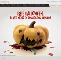 animación para la empresa Dinahosting, para su campaña de Halloween: https://www.youtube.com/watch?v=uvI9j9SBu3s. A Animation project by Carla Protozoo         - 10.11.2014
