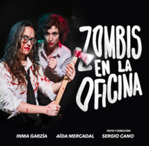 Zombis en la Oficina. Cartel.. A Photograph, Graphic Design, T, and pograph project by Álvaro  Espinosa         - 04.04.2016