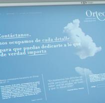 Ortega Servicios Funerarios website. Um projeto de Br e ing e Identidade de Jose Ribelles         - 13.04.2016