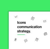 Icons Communication Strategy. A Design, and Graphic Design project by Carla Gonzalez         - 13.04.2016