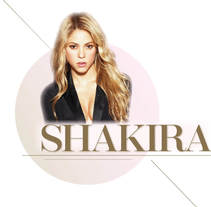 Shakira. A Design, Editorial Design, Graphic Design&Information Design project by Erika de la Espriella         - 13.04.2016