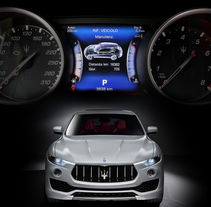 Maserati Levante HMI - Infotainment. Um projeto de UI / UX, Design gráfico e Design interativo de Alessio Conte         - 14.04.2016