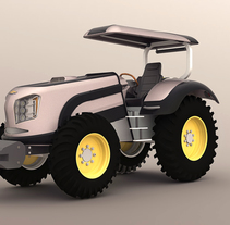 Tractor. A Design, 3D, Automotive Design, Industrial Design, and Product Design project by Mauricio Ercoli         - 01.05.2016