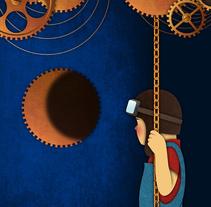 Mix ilustración. Um projeto de Ilustração de Germán Gómez Arranz - 01-05-2016
