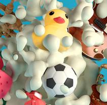 Oreo Taste. Um projeto de Publicidade, 3D e Design gráfico de Mattia Pirillo         - 14.02.2015