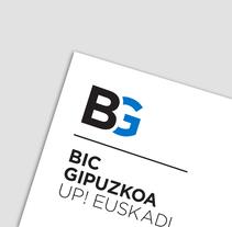 BIC Gipuzkoa, Identidad corporativa.. Un proyecto de Diseño, Dirección de arte y Diseño gráfico de TGA +  - 16-05-2016
