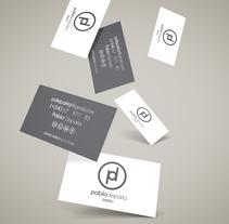 Mis tarjetas de visita. A Graphic Design project by Pablo Deparla         - 18.05.2016