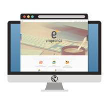 Web Centro Emprende Formación. Un proyecto de Diseño Web de Ana del Valle Seoane         - 10.03.2016