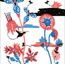 TEDx - Tricks of Flowers. Um projeto de Ilustração e Design gráfico de Clara Pessanha         - 14.01.2016
