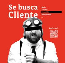 Campaña buscamos cliente - Bazingapps. A Editorial Design project by agencia_dodo         - 23.01.2016