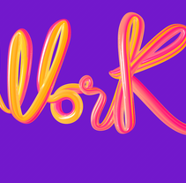 Lettering 3D. A 3D, Animation, and Calligraph project by Noelia Muñoz         - 24.05.2016