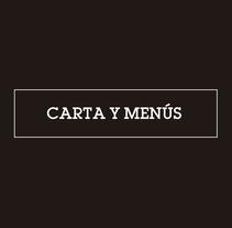 Carta y Menús Korta zar Taberna. A Illustration, Art Direction, and Graphic Design project by Ion Benitez         - 24.07.2014