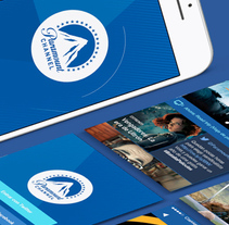 App Paramount Chanel. A UI / UX, Graphic Design&Interactive Design project by Niko Tienza         - 09.07.2015