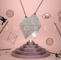 Play With My Logo V: Concrete. A 3D, Art Direction&Illustration project by Guillermo Llano Carretero - 05.27.2016
