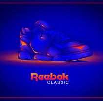Reebok Classic. Um projeto de Ilustração de DSORDER  - 07-06-2016