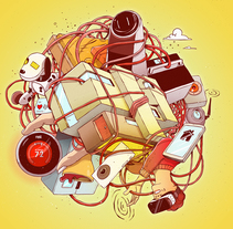 Ilustración de portada para El País Semanal. Un proyecto de Dirección de arte e Ilustración de Óscar Lloréns - Miércoles, 08 de junio de 2016 00:00:00 +0200