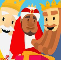 Reyes Magos 2015. Un proyecto de Ilustración, Dirección de arte, Diseño editorial y Diseño gráfico de milimetricks - Jueves, 26 de noviembre de 2015 00:00:00 +0100