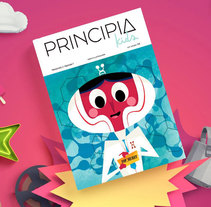 PRINCIPIA KIDS. A Illustration, and Character Design project by Jhonny  Núñez         - 16.06.2016