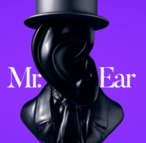 Mr. Ear. A 3D project by James Cristhian  Rocha Terceros - 09-01-2018