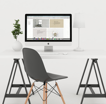 HOMME arquitectura e interiorismo© web.. A Design, Design Management, Graphic Design, Interactive Design, and Web Design project by Alejandro Vázquez Olmeda         - 31.05.2016