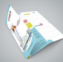 Tamar - Identidad Corporativa Empresa de Catering. A Br, ing, Identit, and Graphic Design project by César Martín Ibáñez  - Jun 21 2016 12:00 AM