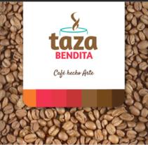 Taza Bendita®  Café hecho arte. Un proyecto de Br, ing e Identidad y Diseño gráfico de Elbis Estid Bonilla Bonilla         - 20.06.2016