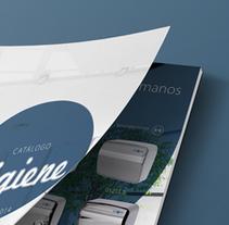 Catálogo Higiene. Um projeto de Design editorial e Design gráfico de Maria Queraltó - 24-06-2016