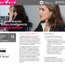 Forward. Un proyecto de UI / UX, Dirección de arte y Diseño Web de Pilar García - 04-07-2016