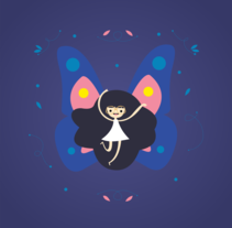 Butterfly. A Illustration project by Melo Amarfil         - 04.07.2016