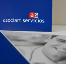 asociart servicios.. A Design, Art Direction, and Editorial Design project by areaveinte comunicación visual  - 01-05-2015