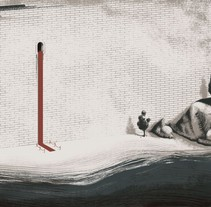Alfombra roja. A Illustration project by Juan Bernabeu - 15-04-2016