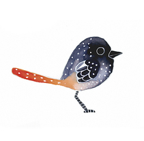 Cute Birds || Patrón. Un proyecto de Diseño, Ilustración y Diseño gráfico de Antia Otero Couselo - Jueves, 24 de noviembre de 2016 00:00:00 +0100