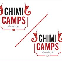 ChimiCamps logo. A Design, Illustration, and Graphic Design project by Maximiliano Casco - 25-07-2016