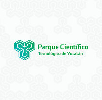 Identidad Parque Científico y tecnológico de Yucatán.. A Design, Br, ing, Identit, and Graphic Design project by Christian Pacheco - Jul 29 2015 12:00 AM