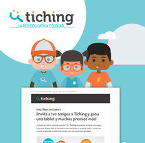 Tiching - MGM Campaign. A Web Design, Illustration, and UI / UX project by le  dezign - Jul 29 2016 12:00 AM